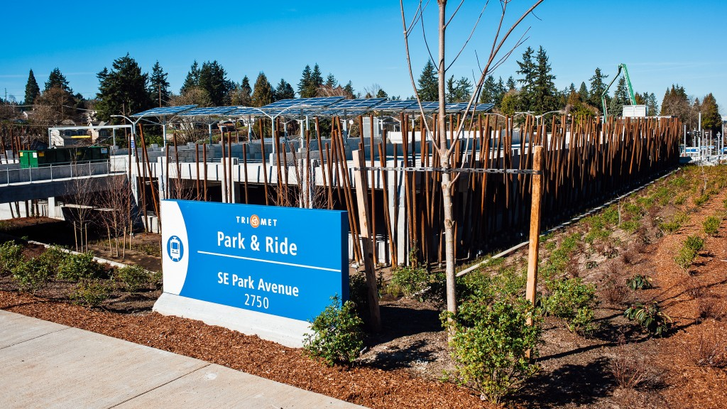 The Park & Ride at the SE Park Ave MAX Station has quickly proven popular.