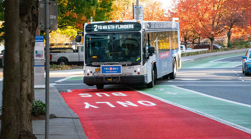 Red Lanes 101: What You Need to Know About Transit-Only Lanes